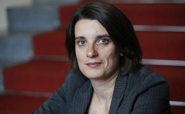 Simona Kustec Lipicer je kandidatka SMC za ministrico za izobraževanje, znanost in šport. Foto Uroš Hočevar