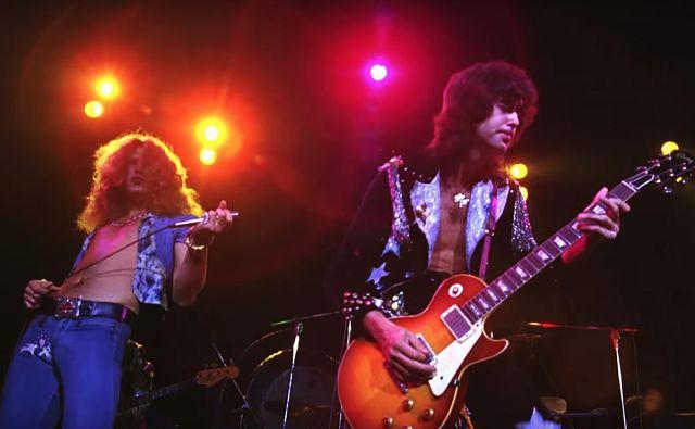 Jimmy Page in Robert Plant v skladbi <em>Stairway to Heaven</em> nista kršila avtorske pravice kitarista Randyja Wolfa, avtorja skladbe <em>Taurus</em>. Foto osebni arhiv