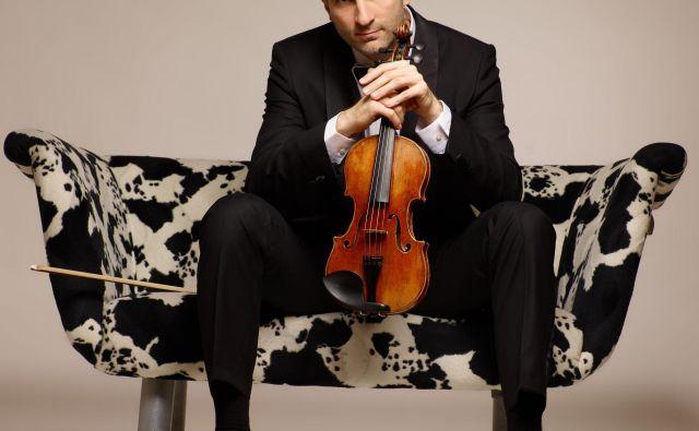 Violinski virtuoz Stefan Milenković. FOTO: Nebojša Babić