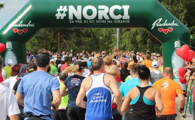 Teku trojk v Ljubljani sledi vrhunec spomladanske tekaške sezone pri nas: Maraton treh src v Radencih.  FOTO: Jože Pojbič