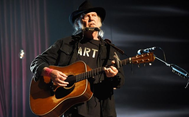 Neil Young je glasbeni aktivist.<br /> FOTO: Kevin Mazur