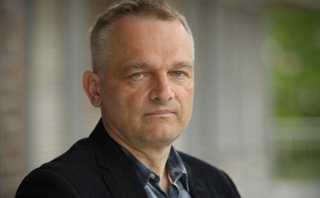 Alojz Ihan, zdravnik mikrobiolog in imunolog. Foto Jure Eržen/delo