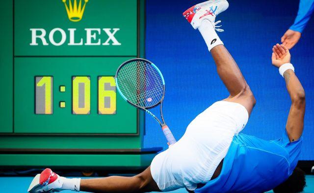 Gael Monfils bo kljub izjemnemu talentu težko kdaj osvojil turnir za grand slam. FOTO: AFP