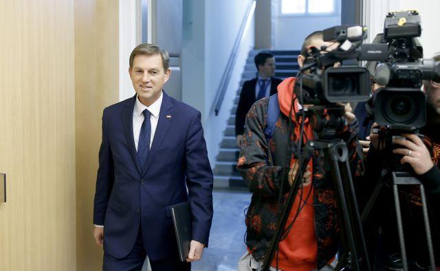 Miro Cerar je predsednika državnega zbora obvestil, da ne bo prevzel mandata poslanca. FOTO: Blaž Samec/Delo