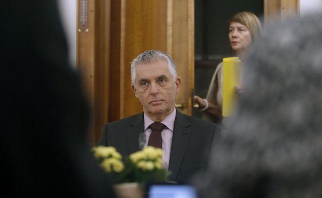 Tomaž Gantar bo kot minister v najtežjih časih, ko državo napada koronavirus, prevzel najzahtevnejši resor. FOTO: Blaž Samec/Delo