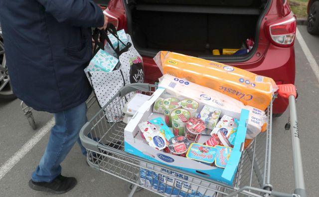 Ljudje se večinoma odločajo za nakupe izdelkov z daljšim rokom uporabe. FOTO: Dejan Javornik