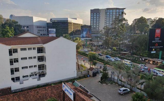 Pogled na glavno mesto Kenije v teh dneh... FOTO: Osebni arhiv