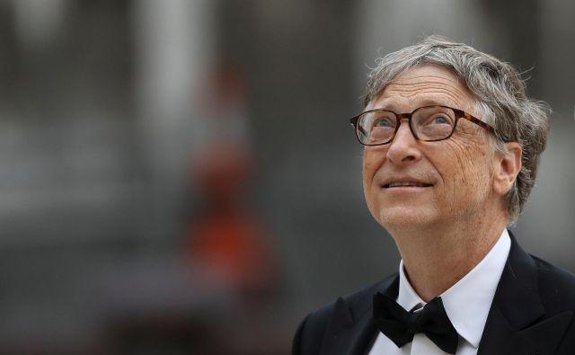Nekdanji programer in vizionar, milijarder Bill Gates, je leta 2015 na eni svojih predstavitev na konferenci TED svaril pred virusi. Foto: Reuters