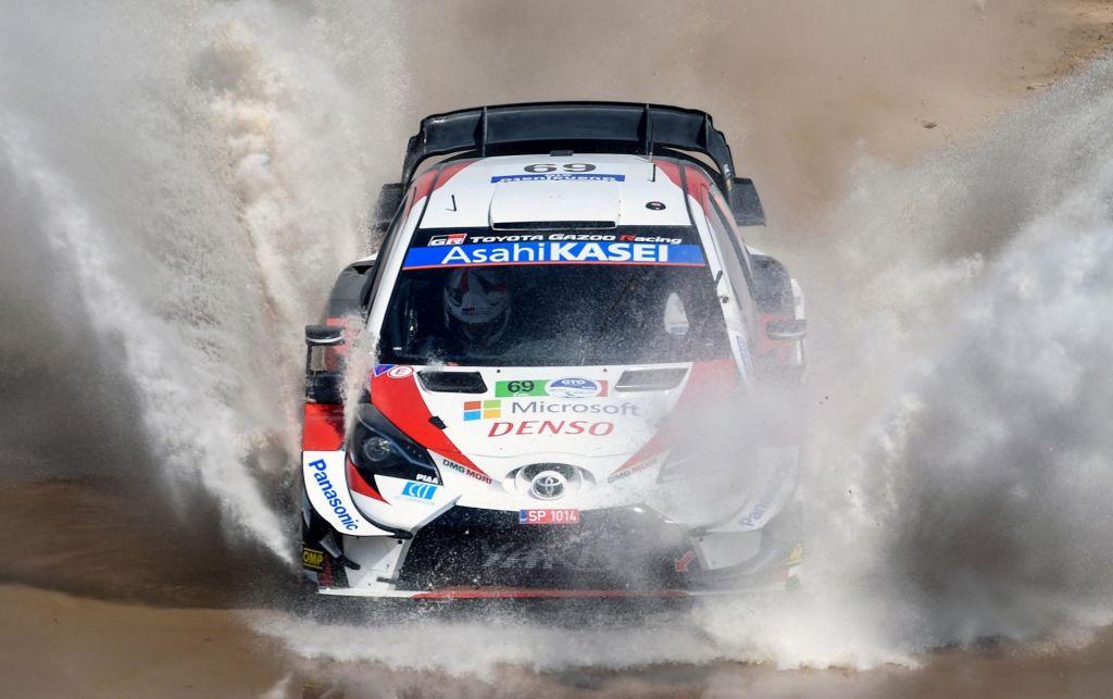 Francoski šampion nima mirnega spanca, finskemu asu zgorel Fordov dirkalnik (VIDEO)