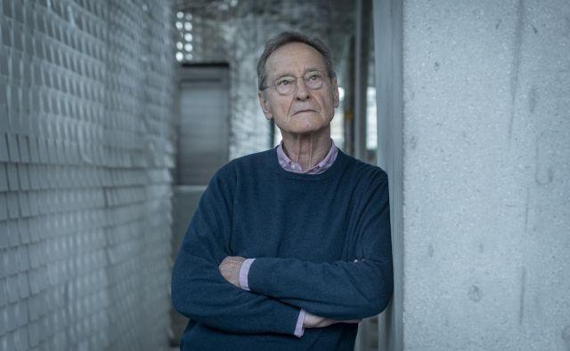 Njegov roman <em>Bralec</em><em> </em>je izšel leta 1995. Schlink je tudi znan avtor kriminalnih romanov. Foto Voranc Vogel