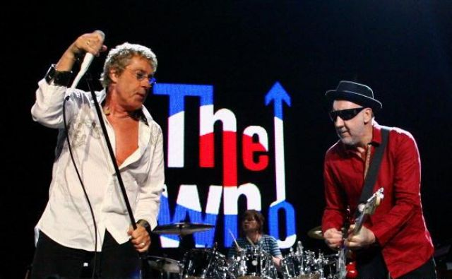 The Who sta le še pevec Roger Daltrey in kitarist Pete Townshend. Foto Bradley Kanaris