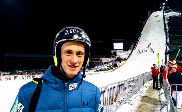 Peter Prevc je kot najboljši slovenski smučarski skakalec 41. sezono svetovnega pokala končal na osmem mestu. FOTO: Miha Šimnovec