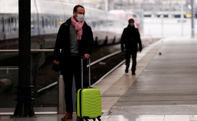 Tudi Francija se je pogreznila v epidemijo.Foto: Reuters