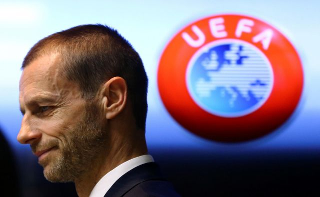 Evropejci so se pogovarjali prek videokonference, ki jo je vodil prvi mož Uefe Aleksander Čeferin. FOTO: Reuters