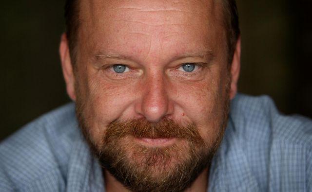 Peter Musevski: »Če bi natančno vedel, kako kaj naredim, bi lahko napisal priročnik: Kako postati dober filmski igralec.«FOTO: Jure Eržen