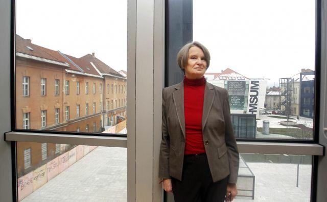 Jelka Pirkovič, vršilka dolžnosti generalne direktorice direktorata za kulturno dediščino. Foto Matej Družnik