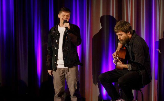 Ben Dolić o svoji skladbi <em>Violent Thing</em>: »Govori o zelo močni ljubezni in energiji med dvema človekoma.« Foto Morris Mac Matzen/NDR