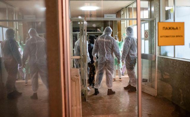Pri spopadu z epidemijo v Srbiji računajo na pomoč Kitajske. FOTO: Marko Djurica/Reuters