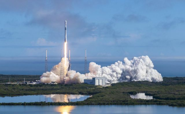 Falcon 9 FOTO: SpaceX