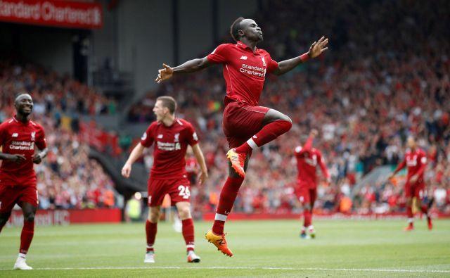 Sadio Mane se odlično počuti v rdečem dresu. FOTO: Reuters