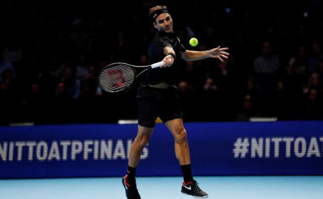 Roger Federer pri svojih 38 letih še vedno ohranja visoke cilje. FOTO: Reuters