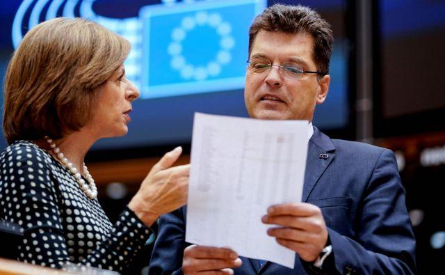 Evropski komisar za krizno upravljanje Janez Lenarčič. Foto: Kenzo Tribouillard/Afp