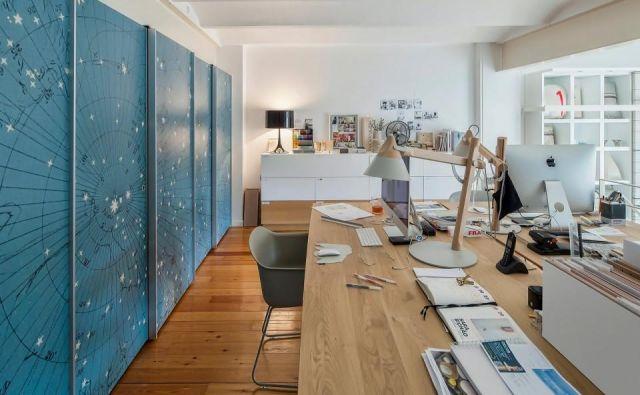Kje pa je vaš delovni prostor v teh domačih delovnih dneh? Foto arhiv biroja Lígia Casanova
