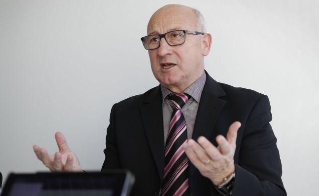 Bogdan Gabrovec ne bo odstopil od mnenja OKS, da bi bilo treba Tokio 2020 prestaviti bodisi na oktober bodisi na prihodnje leto. FOTO: Leon Vidic