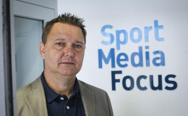Tomaž Ambrožič je direktor agencije Sport Media Focus in guru na Slovenskem na področju športnega marketinga. FOTO: Jože Suhadolnik
