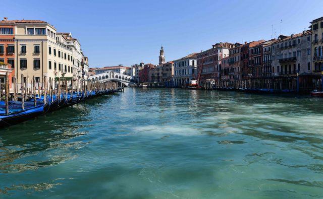Mir v Benetkah. FOTO:Andrea Pattaro/AFP