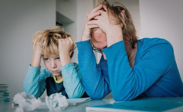 Kako pa gre vam šolanje od doma? Foto Gettyimages Getty Images/istockphoto