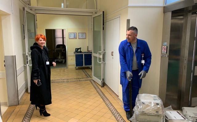 V stari interni bolnišnici bodo lahko sprejeli do 80 bolnikov. FOTO: SB Nm