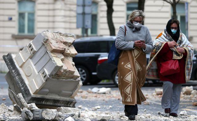 Najhuje je potres prizadel samo središče Zagreba. FOTO: Cropix