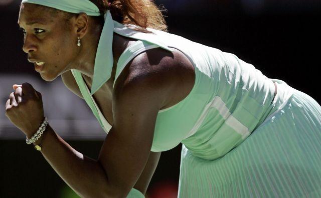 Serena Williams težko prenaša osamo. FOTO: Reuters
