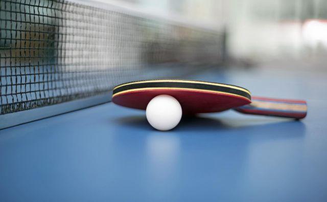 Loparji za namizni tenis bodo mirovali še lep čas. FOTO: Shutterstock