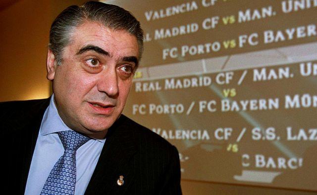 Lorenzo Sanz se je z vidnimi črkami zapisal v zgodovino madridskega Reala. FOTO: Reuters