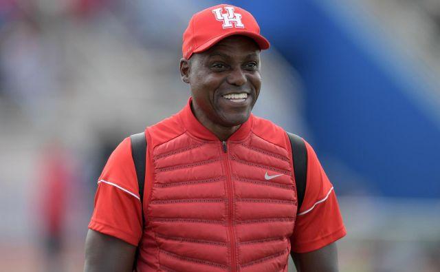Carl Lewis je trener univerzitetne ekipe v ameriškem nogometu Houston Cougars. FOTO: USA Today Sports