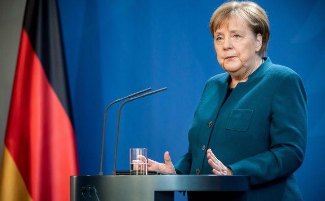Nemška kanclerka Angela Merkel je morala v samoizolacijo.<br /> Foto AFP