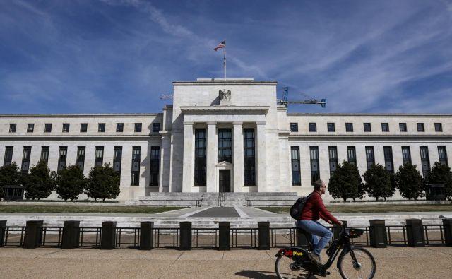 Federal Reserve v Washingtonu. FOTO: Brendan Mcdermid/Reuters