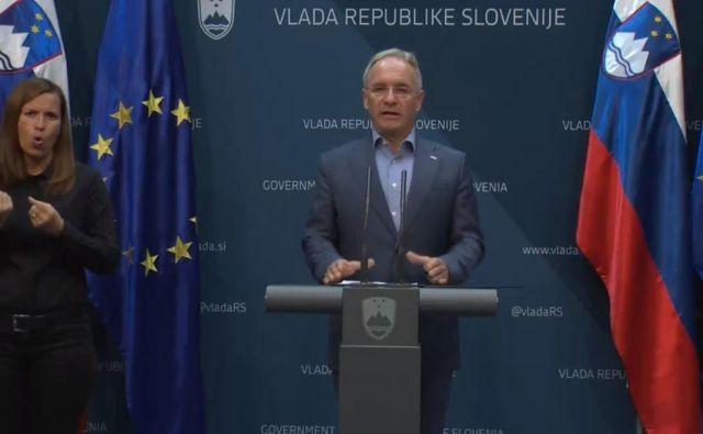Minister za notranje zadeve Aleš Hojs. FOTO: Zaslonska Slika