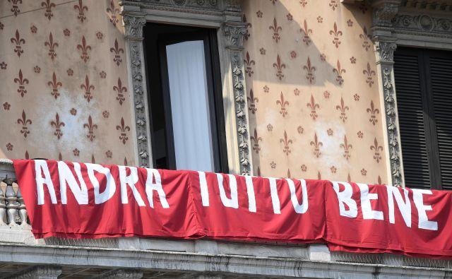 Kako bo vse še dobro, če ne bodo Italijani dosledno upoštevali navodil stroge karantene? FOTO: Daniele Mascolo/Reuters