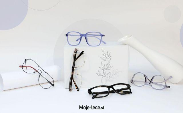 Moje-lece ponuja široko izbiro sončnih in korekcijskih očal. FOTO: Moje-lece.si