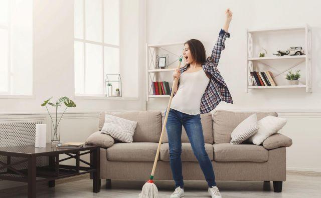 Spomladansko čiščenje blagodejno vpliva na mentalno zdravje, fizično zdravje in stanje vašega doma. Foto Shutterstock