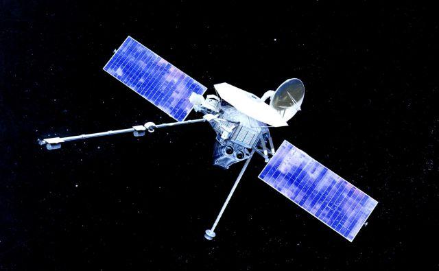 Mariner 10 je odlično opravil svoje delo. Menda še danes kroži okoli sonca. FOTO: Nasa