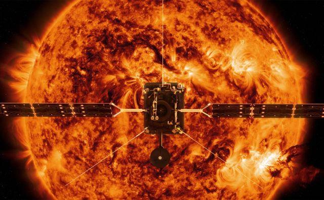 Brez podpore je ostal tudi solarni orbiter, ki potuje proti Soncu. FOTO: AFP