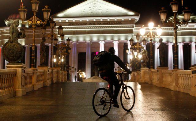 Do prespanskega sporazuma z Atenami je bilo Skopje glede pristopnih pogajanj v slepi ulici. FOTO: Ognen Teofilovski/Reuters
