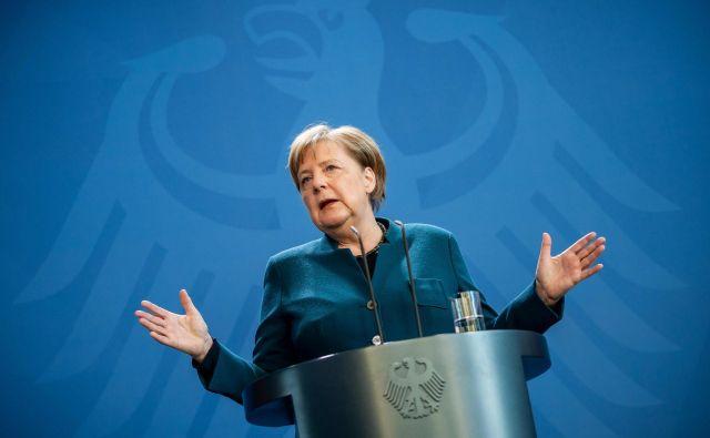Nemška kanclerka Angela Merkel je bila neposredna, delovala je osebno in verodostojno.<br /> FOTO: Michael Kappeler/AFP