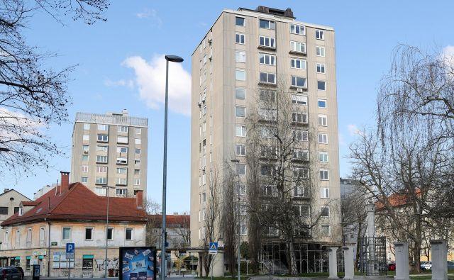 V Ljubljani je najmanj 15 potresno ogroženih stolpnic. FOTO: Marko Feist/Delo