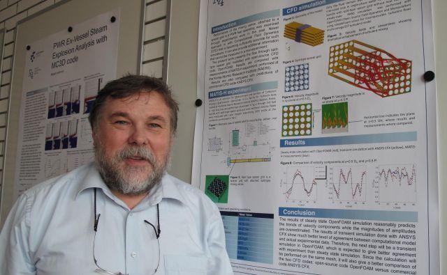 Dr. Leon Cizelj pravi, da je za varnost jedrske elektrarne ključno, da reaktor tudi po zaustavitvi hladimo.