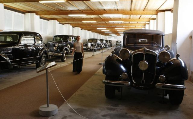 Zbirka Titovih avtomobilov v Tehniškem muzeju Bistra FOTO: Uroš Hočevar/Delo